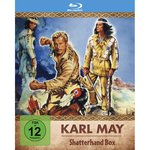 Blu-Ray - Karl May - Shatterhand Box - Old Shatterhand - Lex Barker, Pierre Brice, Guy Madison