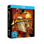 Blu-Ray - Indiana Jones The Complete Adventures : Jumbo Steelbook inkl. Zippo-Feuerzeug