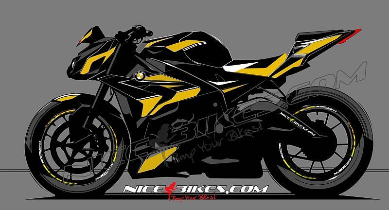 dekorsatz s1000r edition gelb auf schwarzer machine nice bikes shop. Black Bedroom Furniture Sets. Home Design Ideas