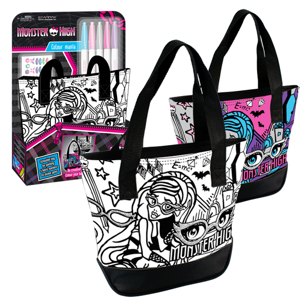 sp17 monster high tasche handtasche henkeltasche zum. Black Bedroom Furniture Sets. Home Design Ideas