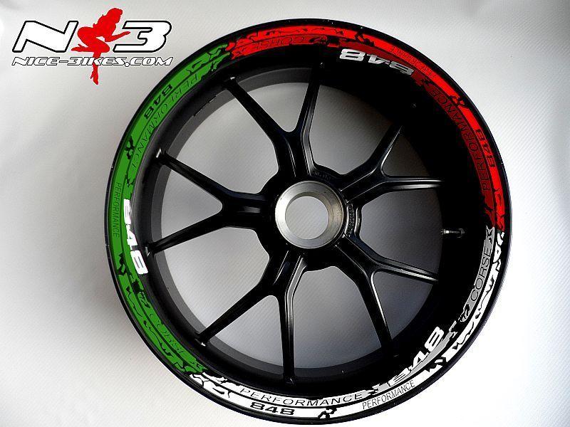 RACE STYLE Ducati 848 Tricolor