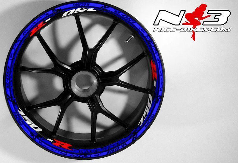 RACE Style Suzuki GSR 750 blau