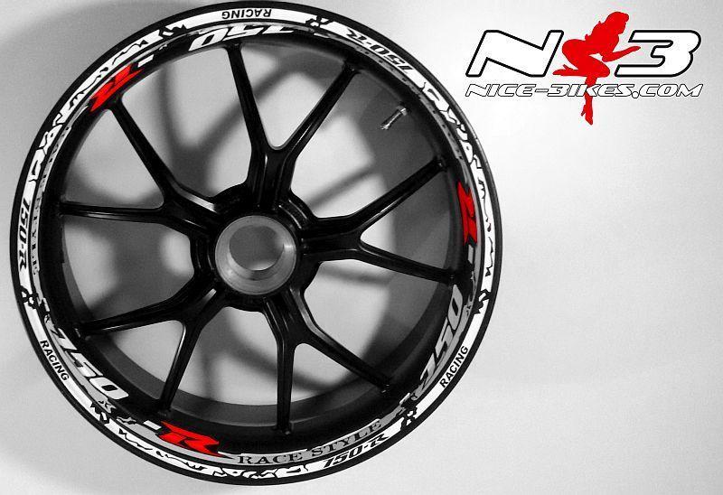 RACE Style Suzuki GSXR 750 mit rotem R