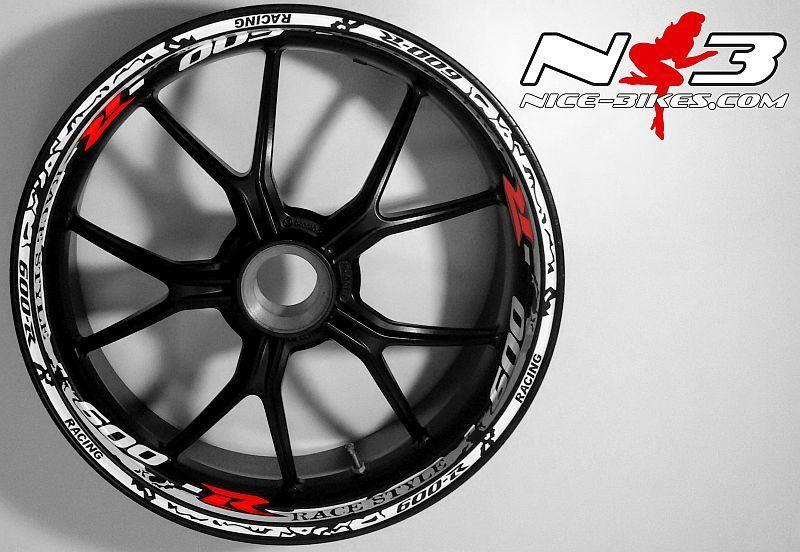 RACE Style Suzuki GSXR 600 uni mit rotem R