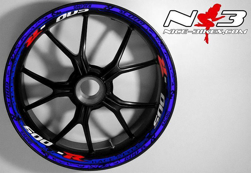 RACE Style Suzuki GSXR 600 blau rot