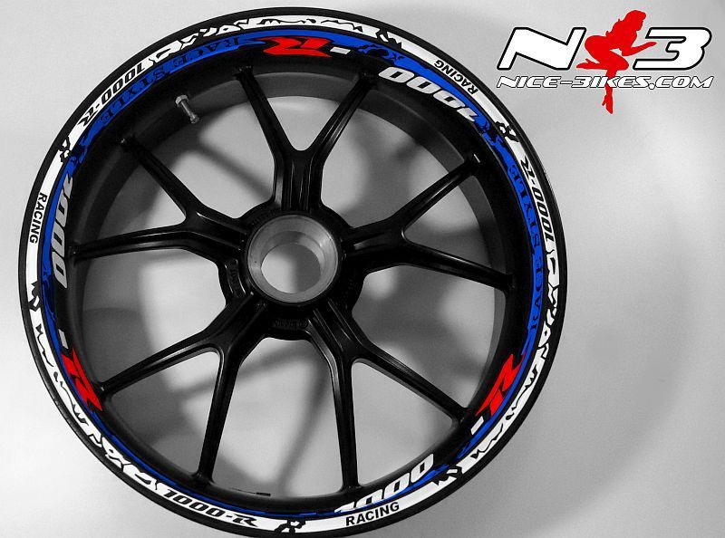 RACE Style Suzuki GSXR 1000 weiß blau