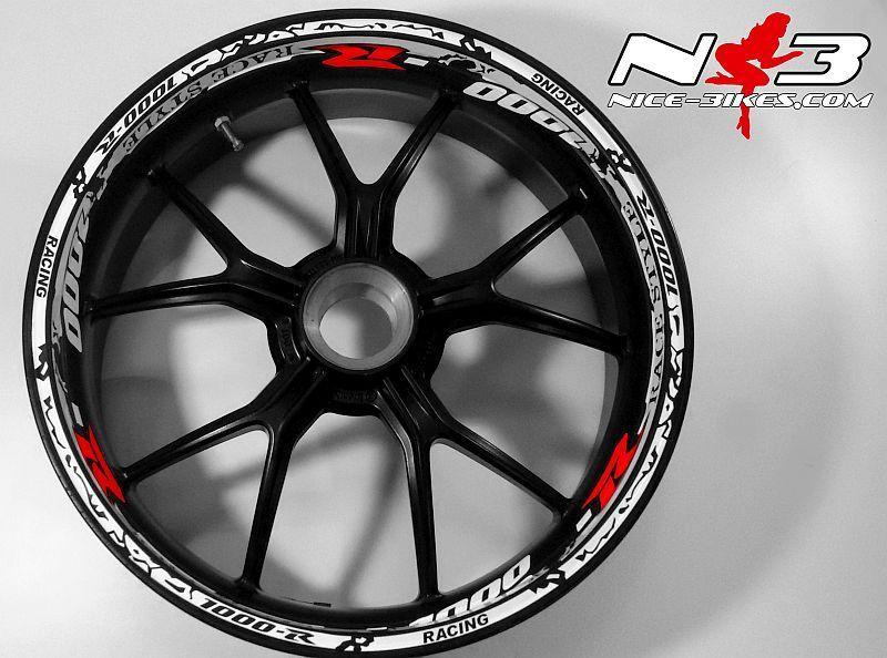 RACE Style Suzuki GSXR1000 alle Farben und rotem R
