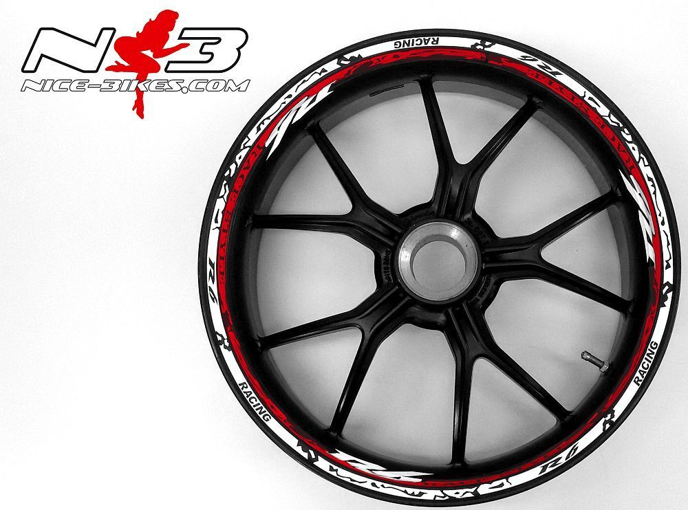 Race Style Yamaha R6 weiß rot