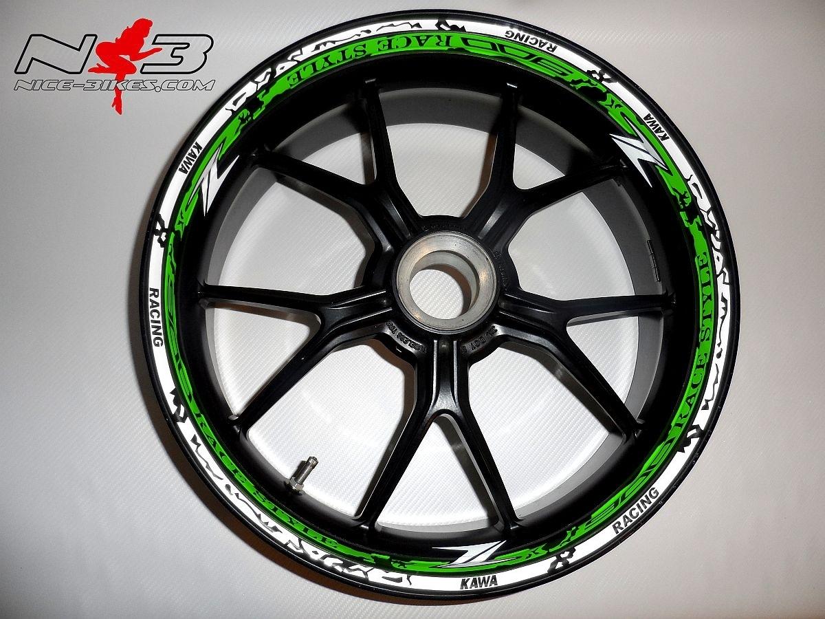 RACE STYLE Z900 limergreen/weiß