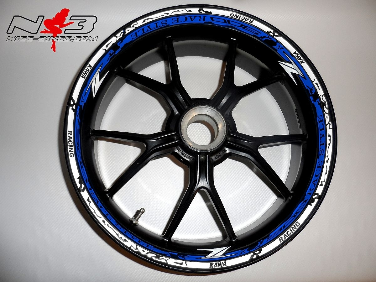 RACE STYLE Z900 blau/weiß