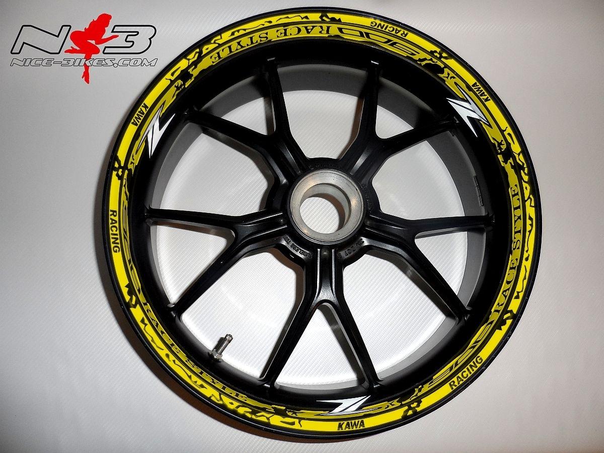 RACE STYLE Z900 gelb