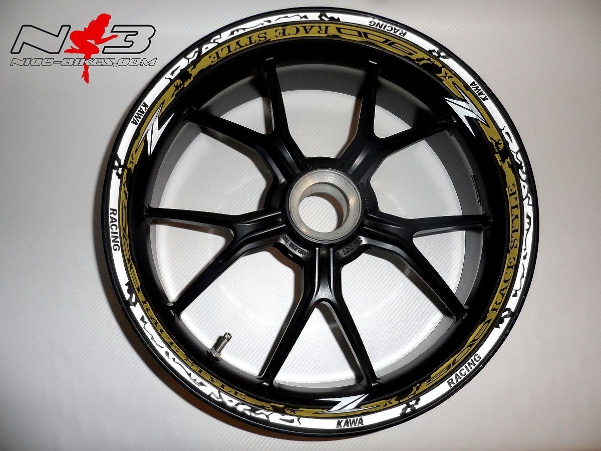 RACE STYLE Z900 gold/weiß