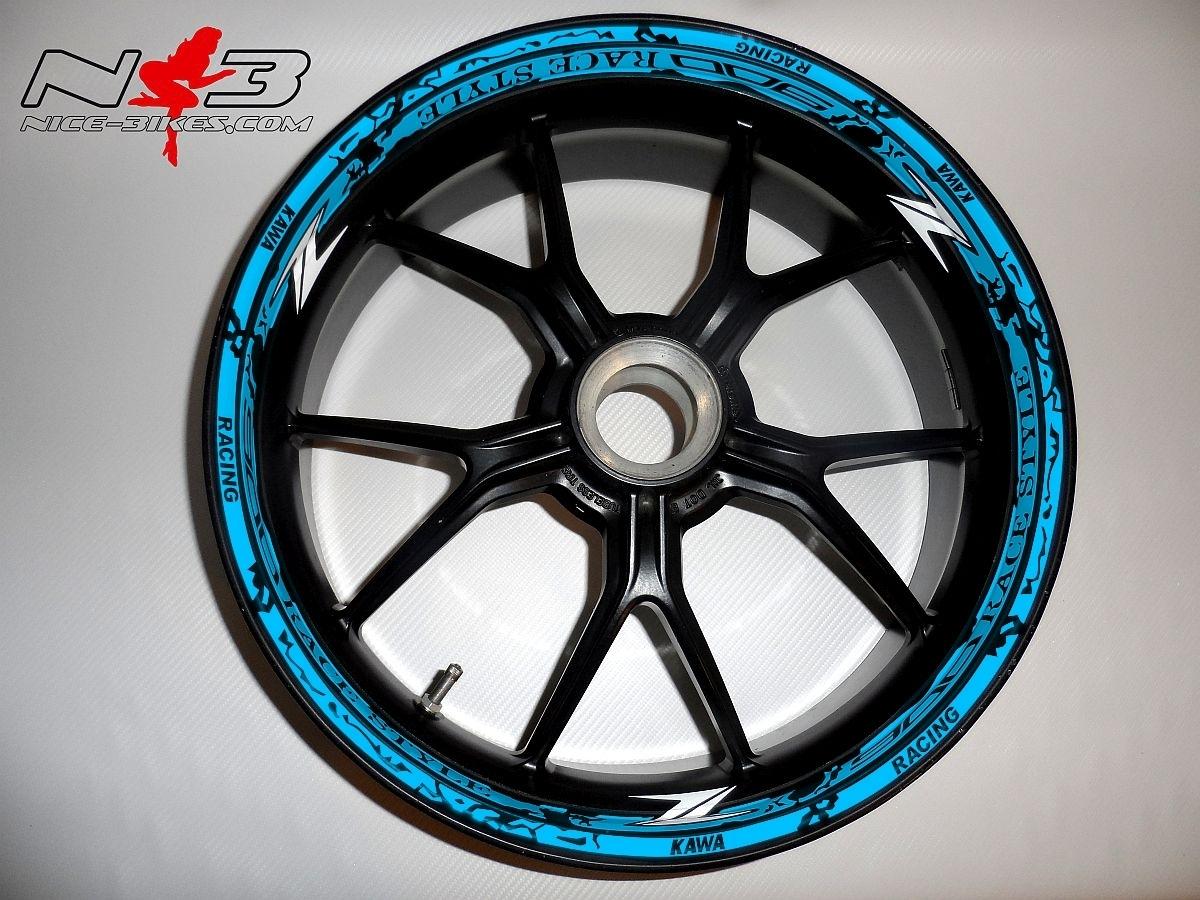 RACE STYLE Z900 hellblau