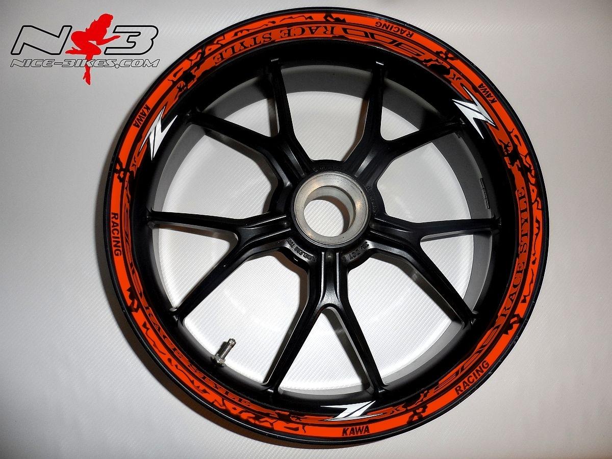 RACE STYLE Z900 orange
