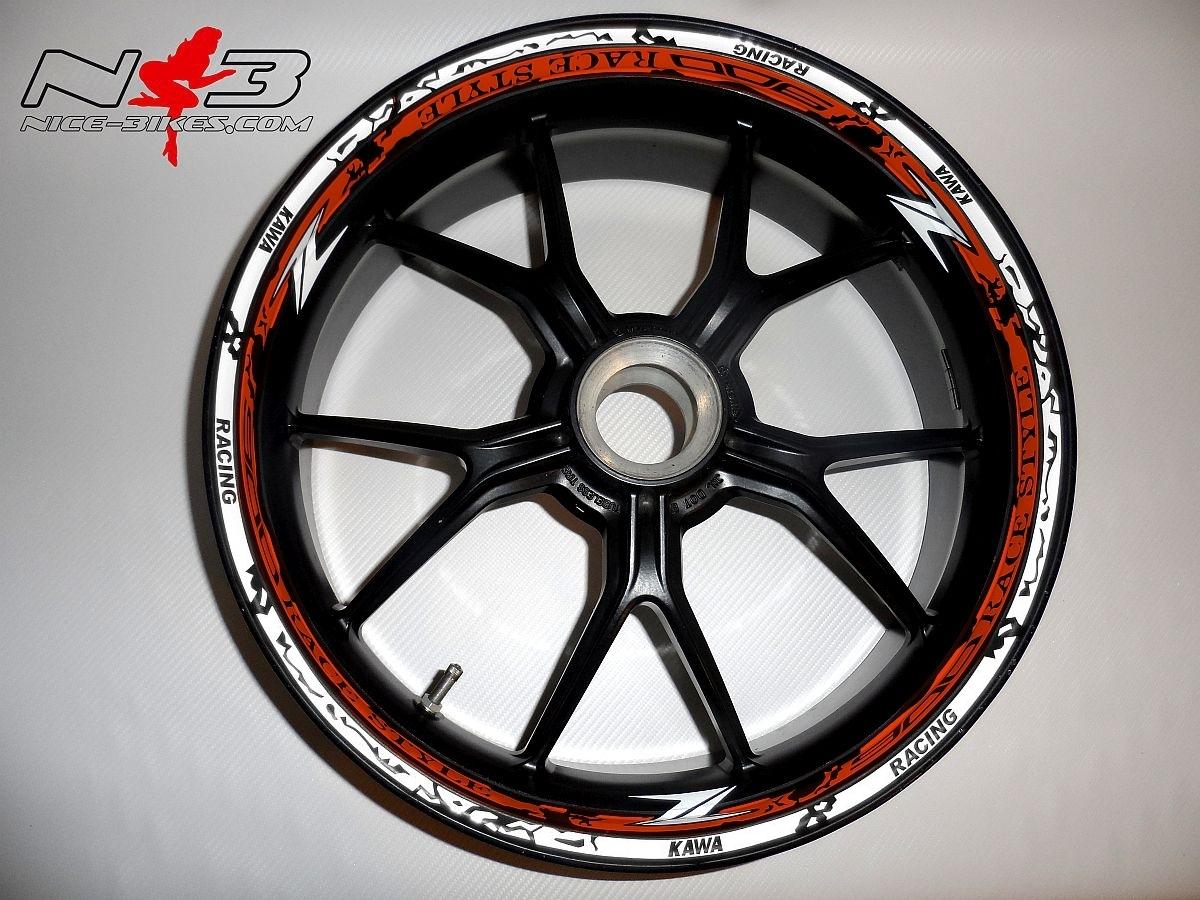 RACE STYLE Z900 orange/weiß