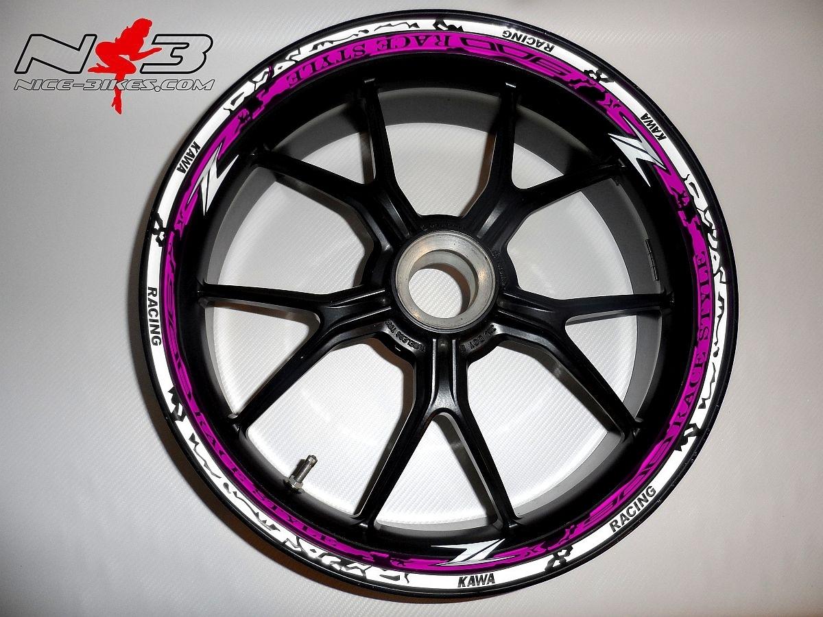 RACE STYLE Z900 pink/weiß
