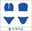 japan twopiece swimwear