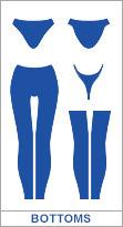 japan swimwear bottoms