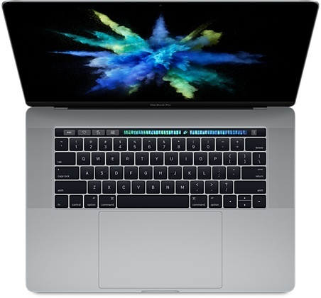 "Apple MacBook Pro 15,4"" i7 2,8GHz 16GB 256GB TB spacegrau"