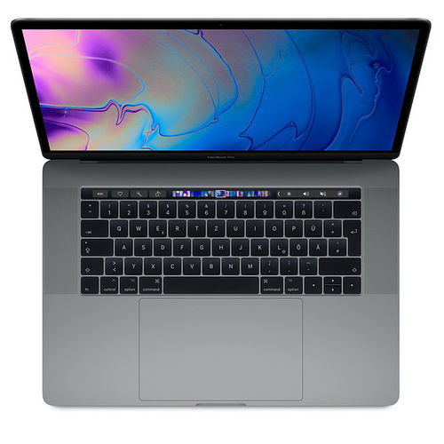 "Apple MacBook Pro 15,4"" 6-Core 2,2GHz 16GB 256GB TB Spacegrau R-Ware"