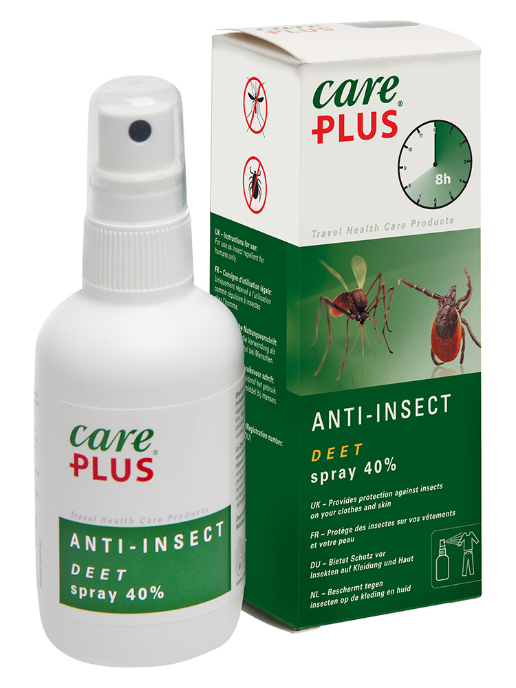 Care Plus DEET- anti-insect Spray 40% 100ml