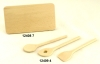 Little wooden boards and woodenspoon sets