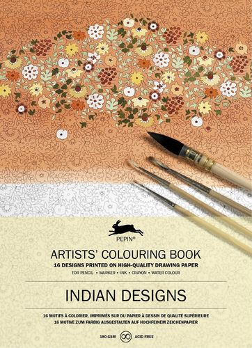 Colouring Book Indian Designs