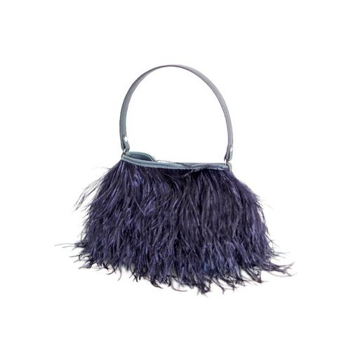 Rarity Handbag,Federhandtasche,Yumi Feather navy