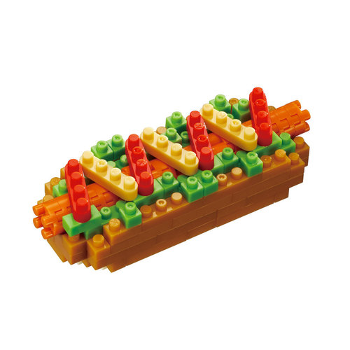 nanoblock NBC-218 Hot Dog