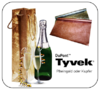 Tyvek Bottle Bag kupfer