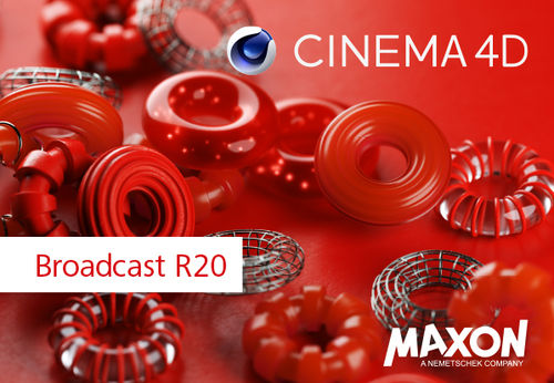 Cinema 4D Broadcast R20