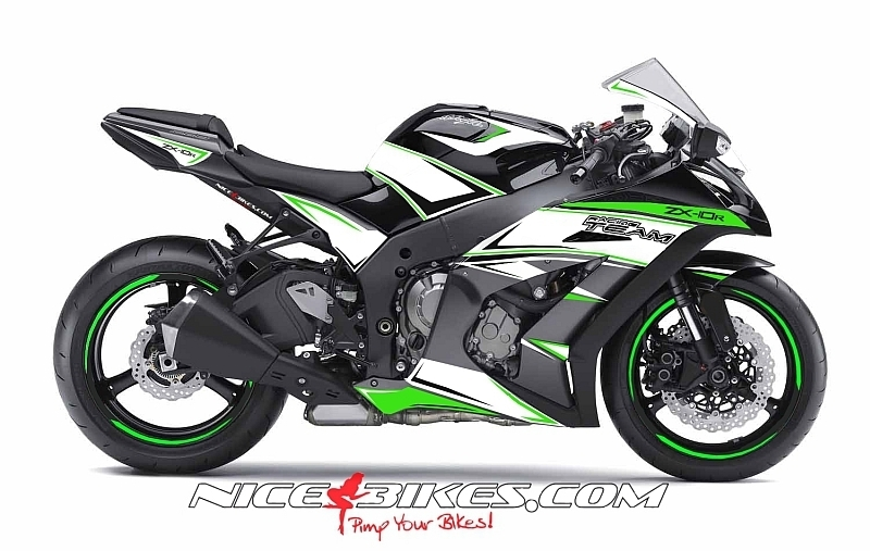Folien Design 2013 Ninja ZX-10R RACE