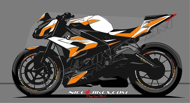 Dekorsatz S1000R EDITION Orange