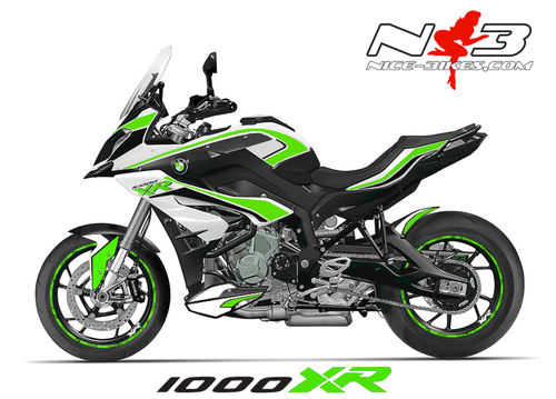 bmw s1000xr edition limegreen auf wei er maschine nice bikes shop. Black Bedroom Furniture Sets. Home Design Ideas