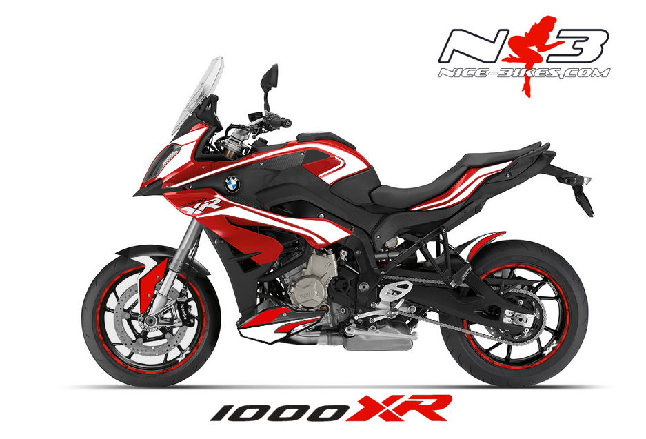 bmw s1000xr edition wei auf roter maschine nice bikes shop. Black Bedroom Furniture Sets. Home Design Ideas