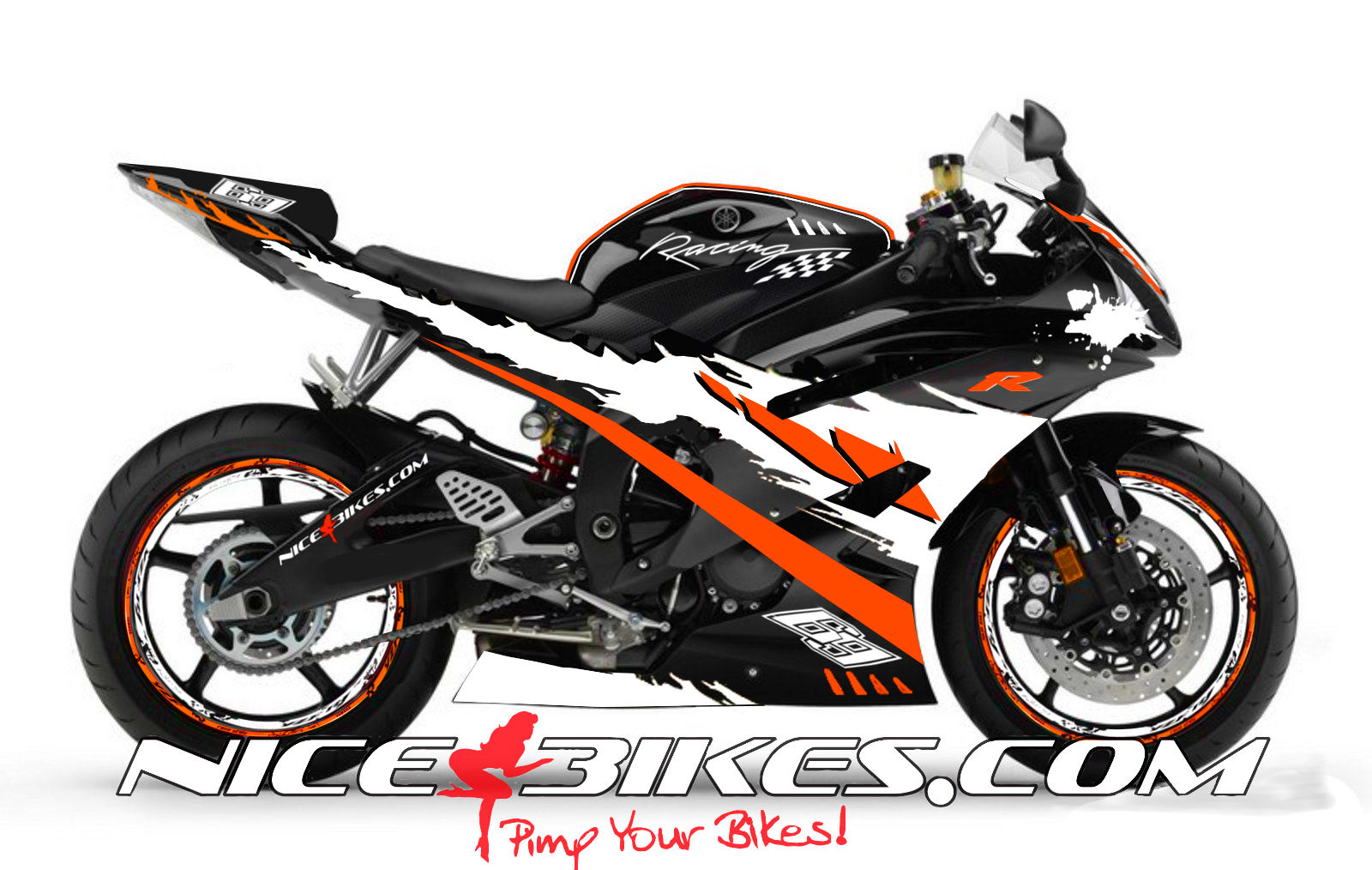 RACE Design R6 Orange
