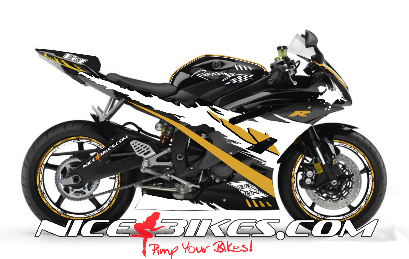 RACE Design R6 Gold