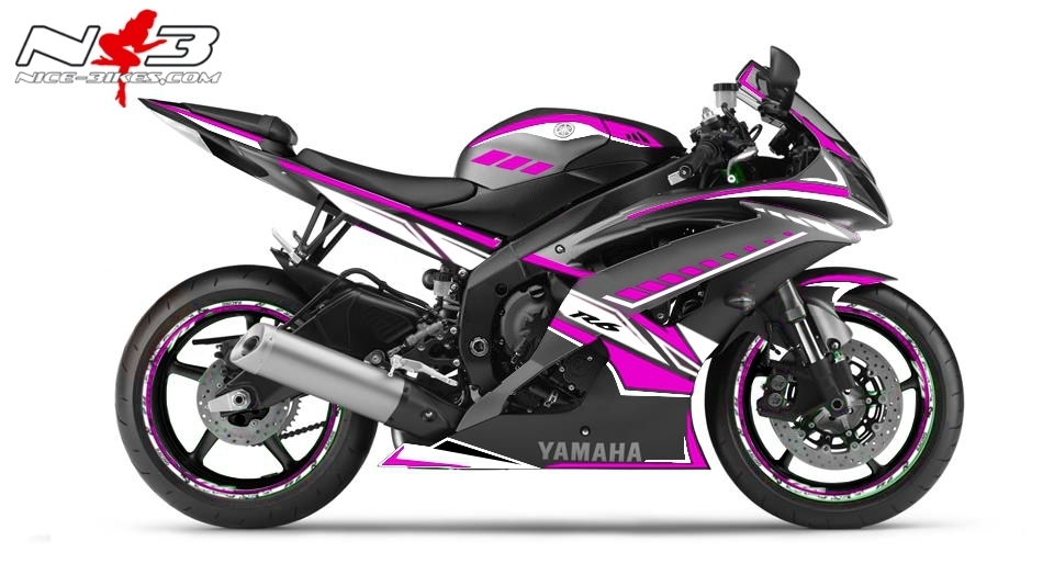 R6 Dekor NEED FOR SPEED pink