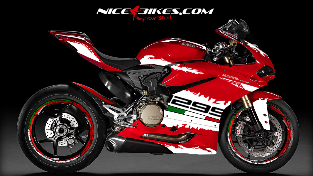 1299 Panigale Edition Weiß 2.3 (Tricolor)