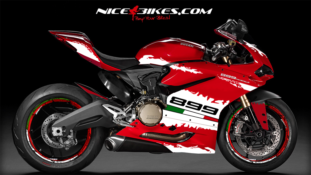 899 Panigale Edition Weiß 2.1 (Tricolor)