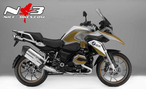 bmw gs edition gold auf silberner maschine nice bikes shop. Black Bedroom Furniture Sets. Home Design Ideas