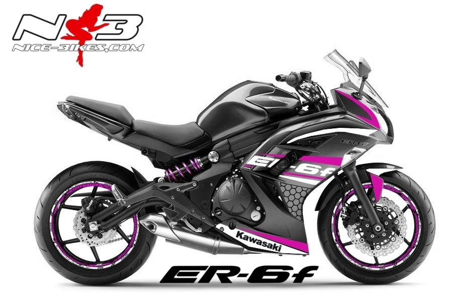 ER6F Race Style pink