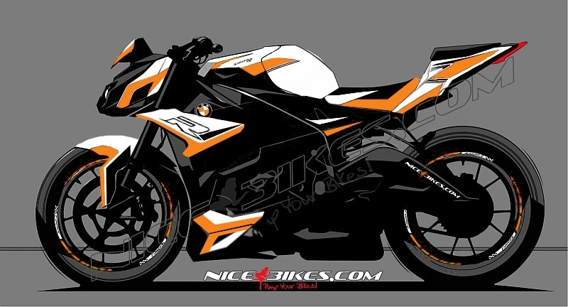 Dekorsatz S1000R EDITION Orange 2017-