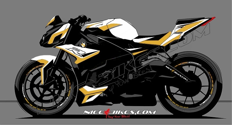 Dekorsatz S1000R EDITION Gold 2017-