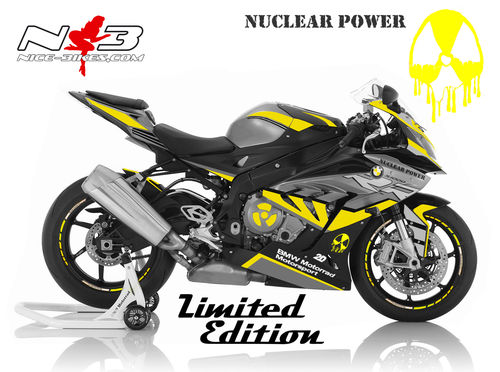 Dekorsatz S1000RR NUCLEAR POWER Limited Edition (44Stück) 2017-18
