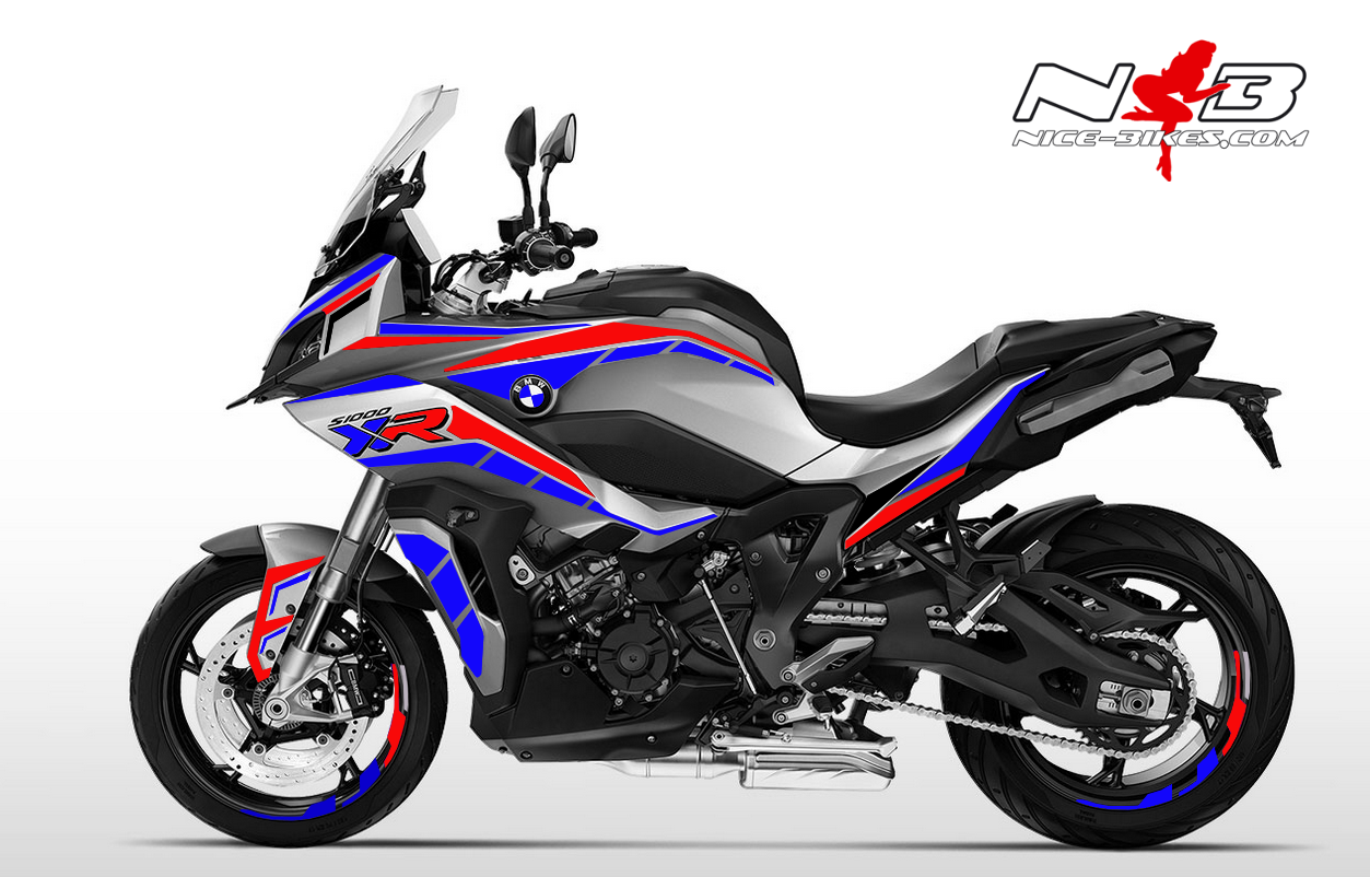 Foliendesign BMW S1000 XR (Bj. 2020) Motorsport