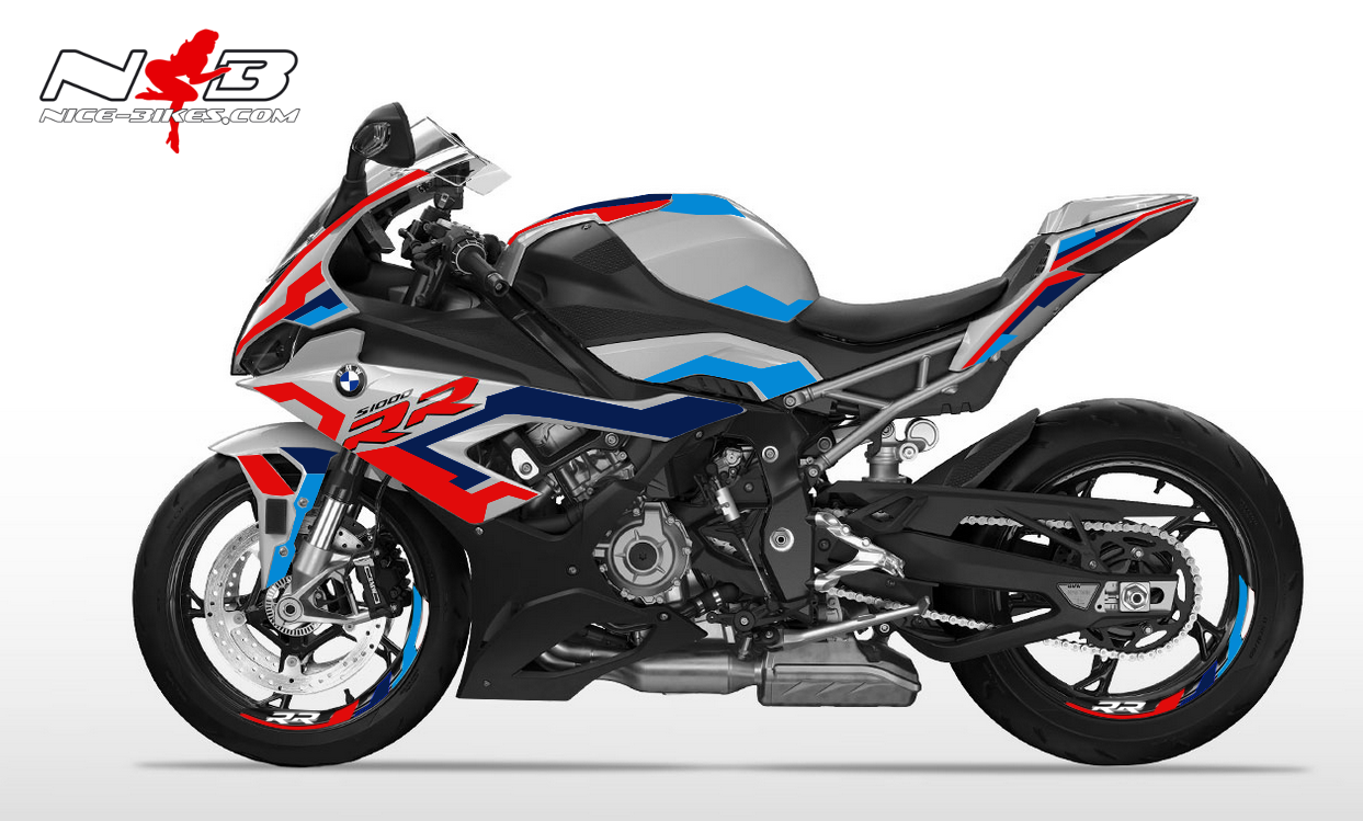 Foliendesign BMW S1000RR (Bj. 2020) GP Edition