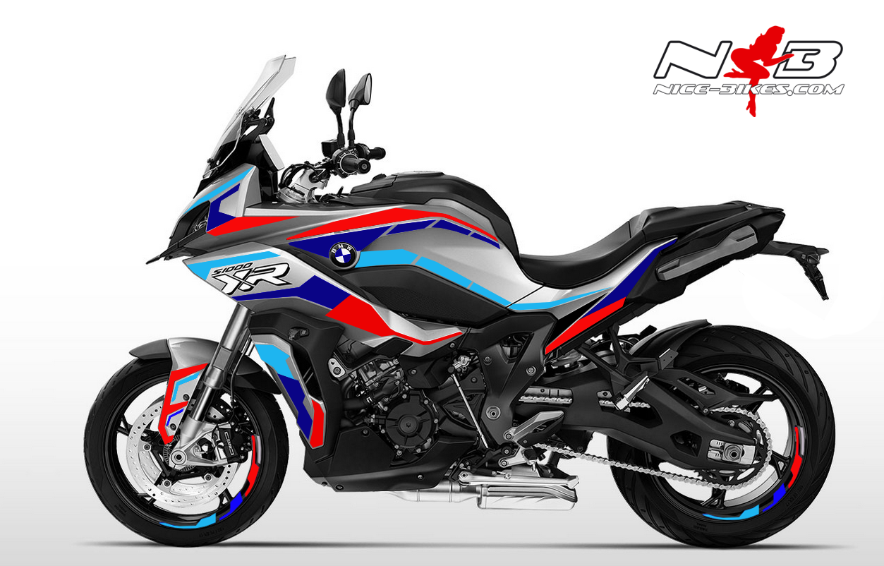 Foliendesign BMW S1000XR (Bj. 2020) GP Edition