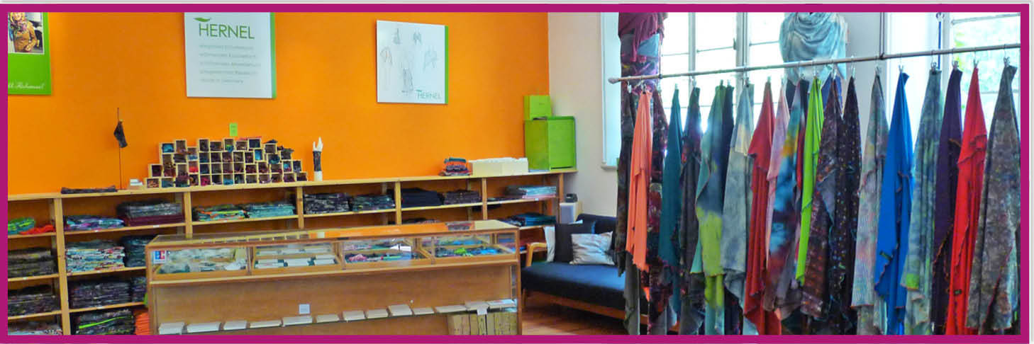 HERNEL Webshop Showroom Barnitz