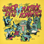 "THE SEWER RATS - The Jukebox Romantics Split Ep 7"" colored Vinyl magenta"